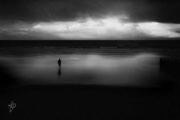 At Peace. Black and white photographic prints, Richard Pengelley, The Shy Photographer