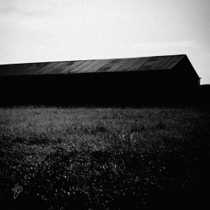 Dark Shed. Black and white photographic prints, Richard Pengelley, The Shy Photographer