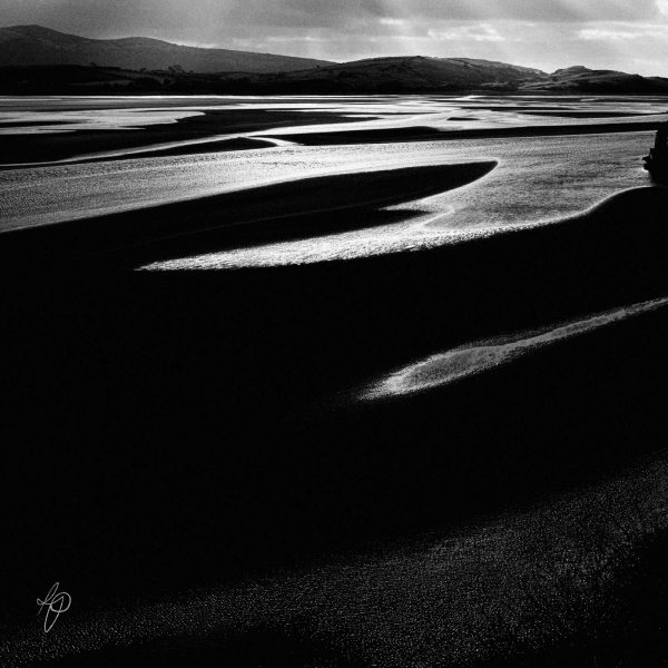 Falling Tide. Black and white photographic prints, Richard Pengelley, The Shy Photographer